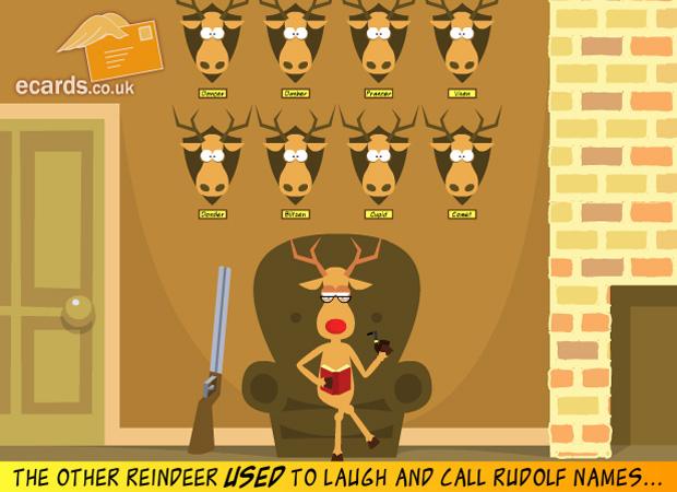 ecards christmas revenge