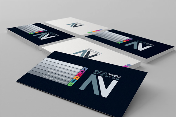 free 6 sample blank business card templates in psd pdf
