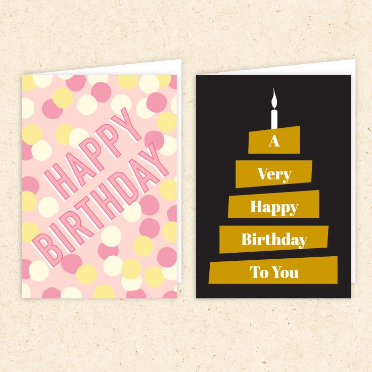 free printable birthday cards ideas for the home