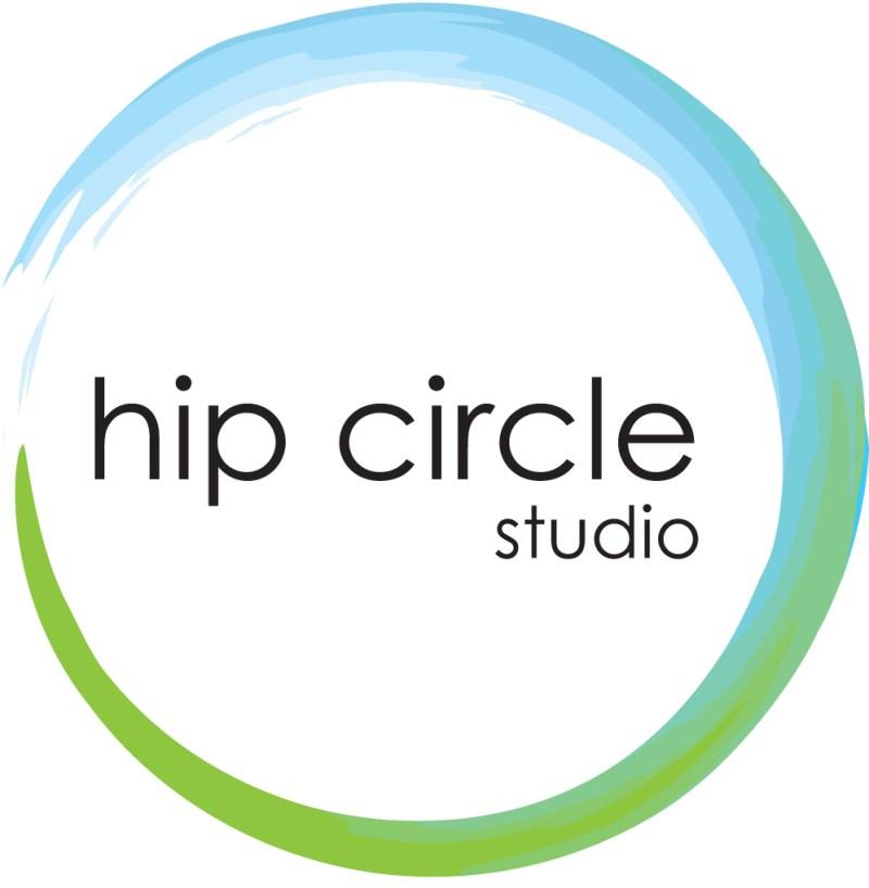 hip circle studio logo and collateral design jennifer