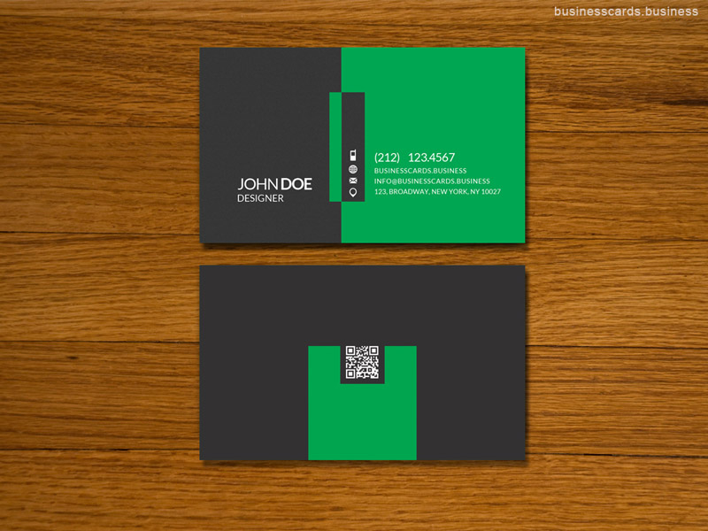 simple business card template for photoshop business