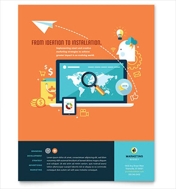 38 business flyer templates word psd publisher