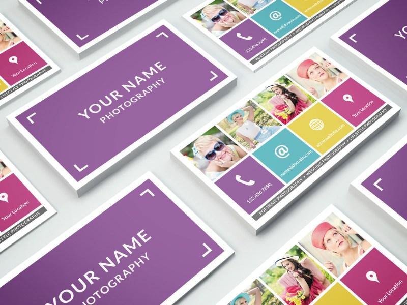 business card template 013 photoshop nm design studio