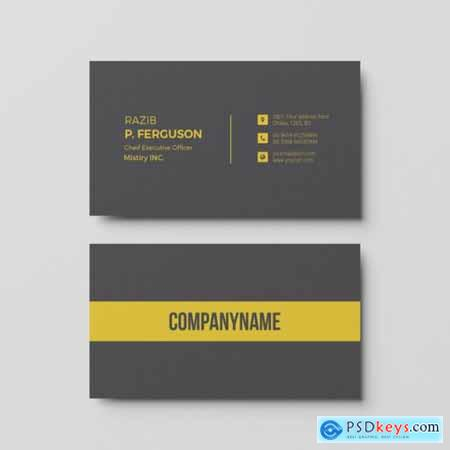 business card template 2 free download photoshop vector