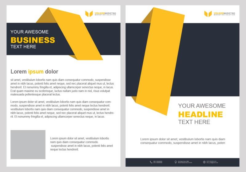 creative brochure design psd template free downloads for