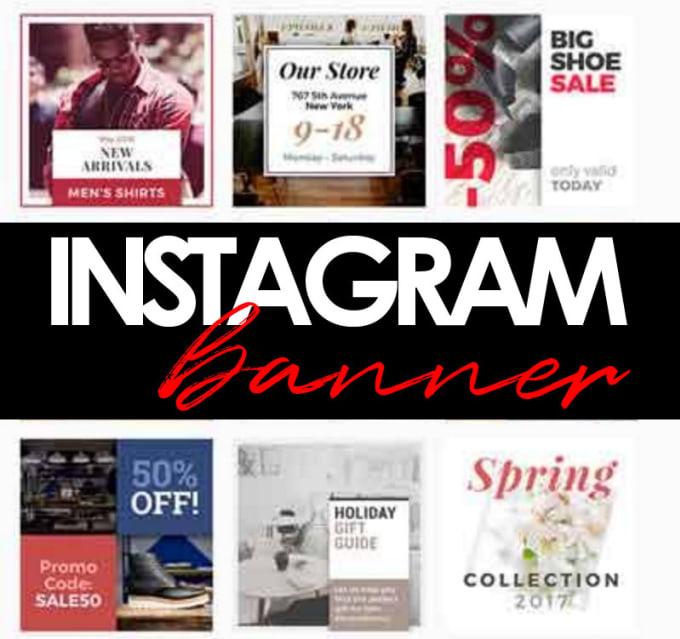 design a nice promotional instagram banner karyface1