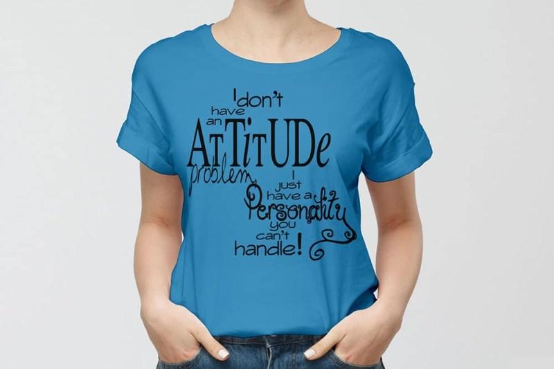 download this free women t shirt mockup in psd designhooks