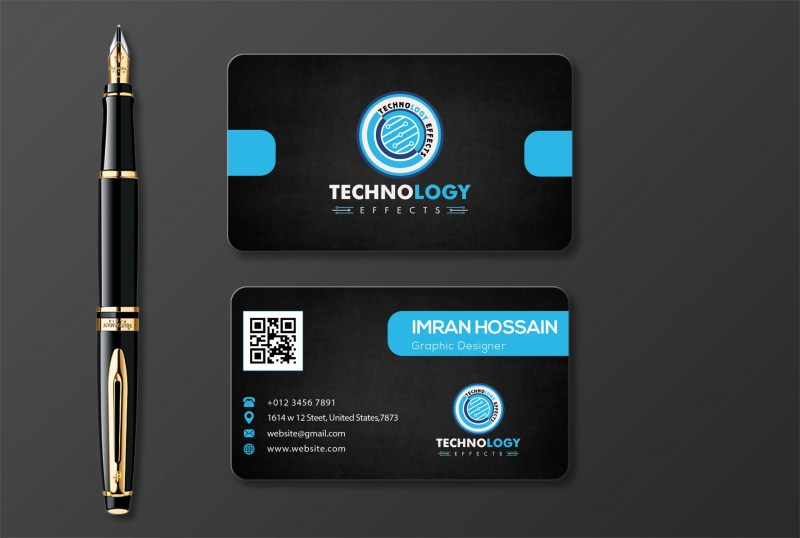 free modern mock up business card template in photoshop psd