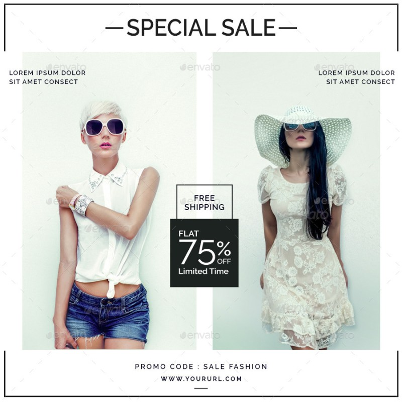 sales instagram banners 6 templates doto graphicriver