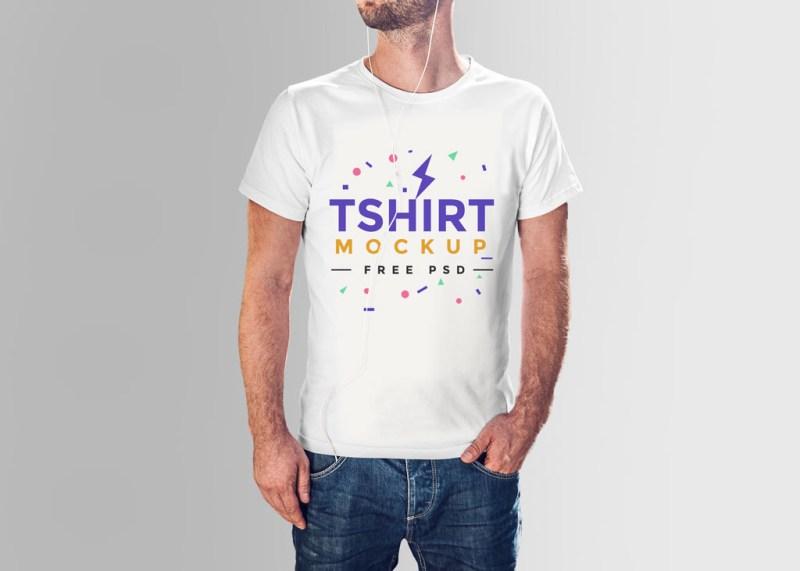 t shirt for men mockup mockup world