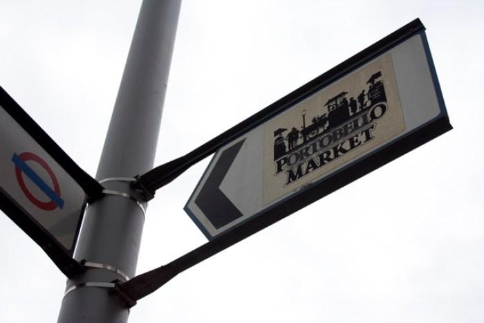 Portobello Market sign