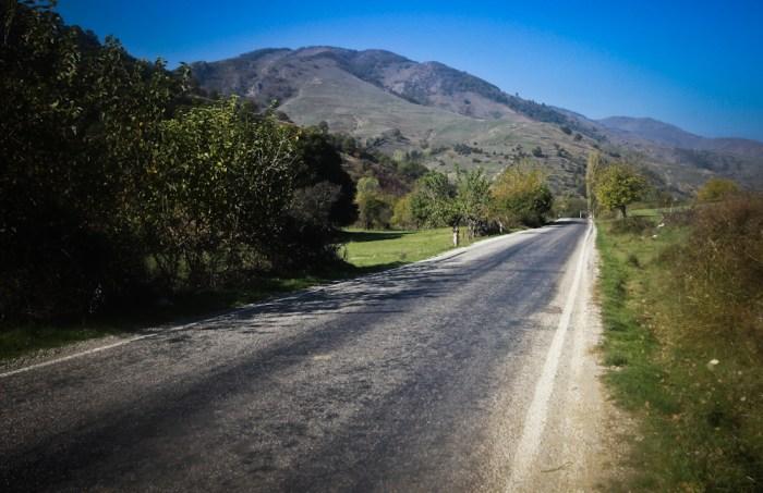Evliya Celebi Way asphalt