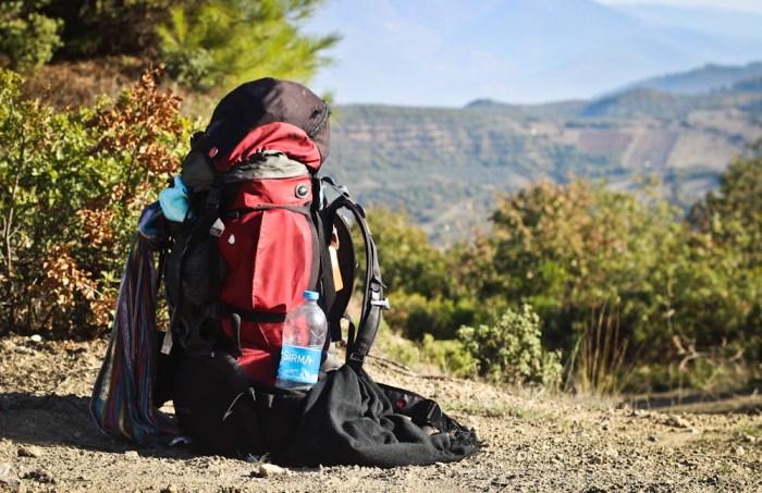 Evliya Celebi Way backpack