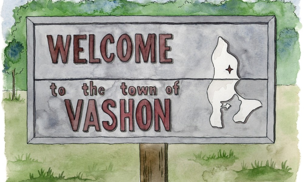 An illustrated love letter to Vashon Island.
