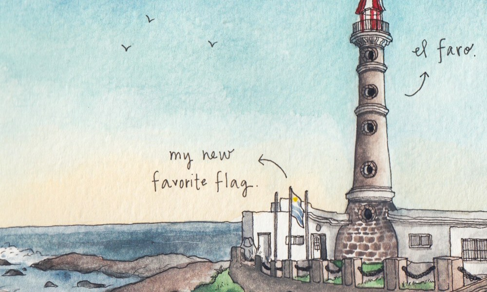 Sketching Uruguay: When life gives our journeys shape
