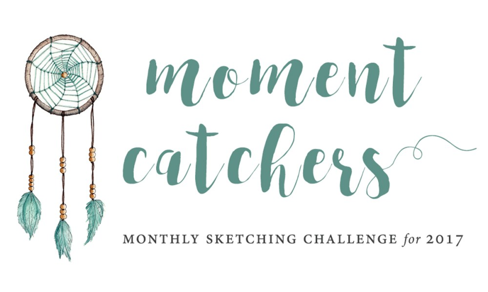 The Moment Catchers Project: Join our 2017 sketching challenge!