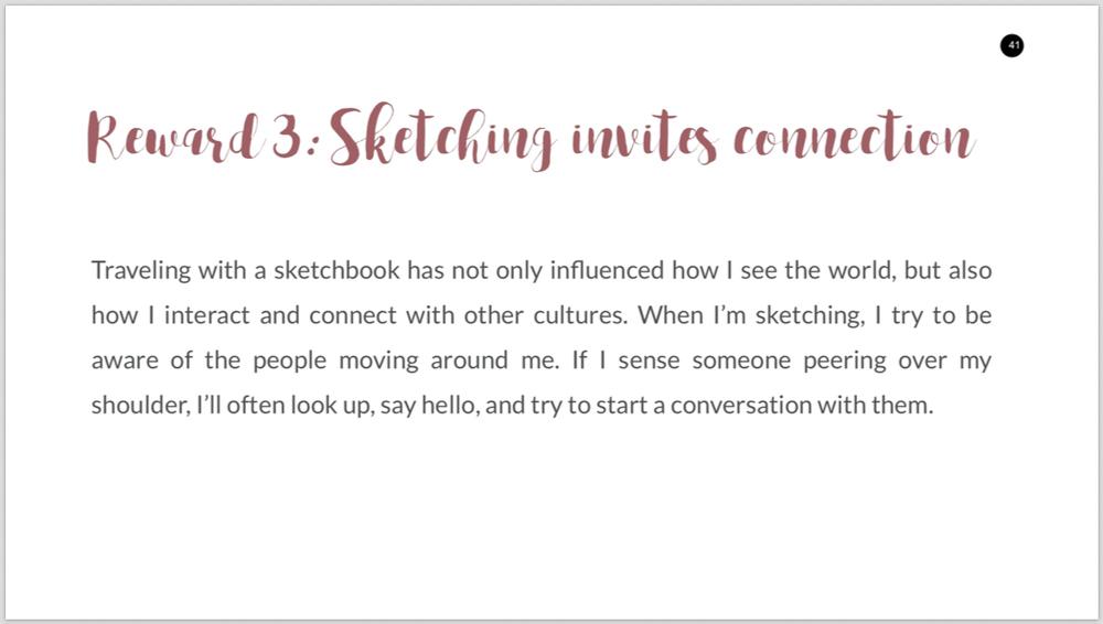 Travel Sketching 101 ebook