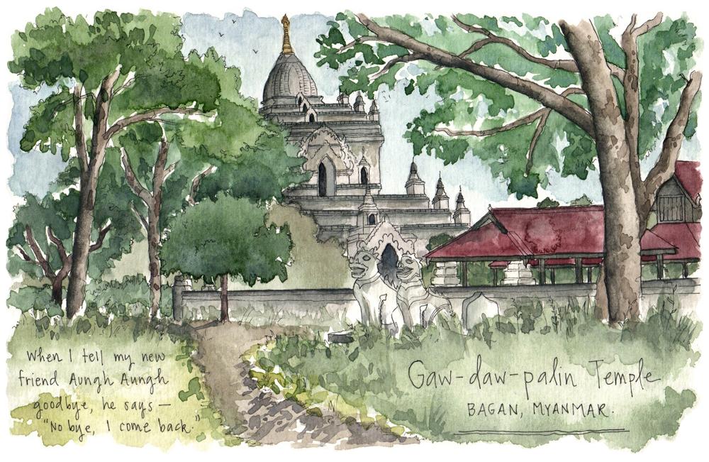Myanmar sketches