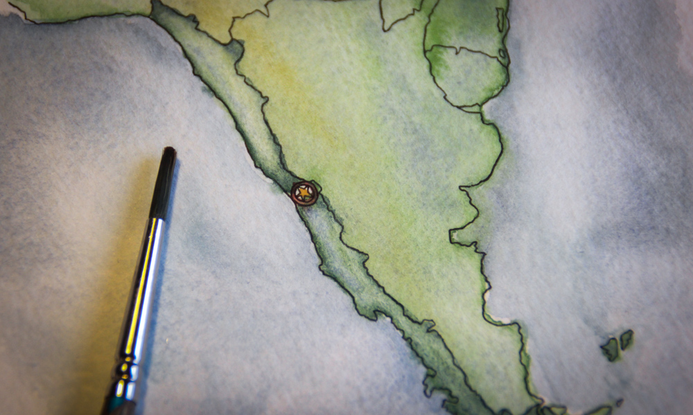Sketching Chile: In praise of going somewhere new