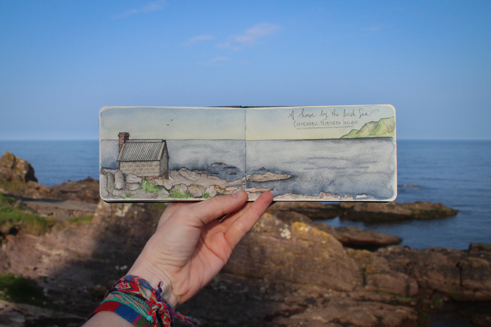 Travel sketch Ireland