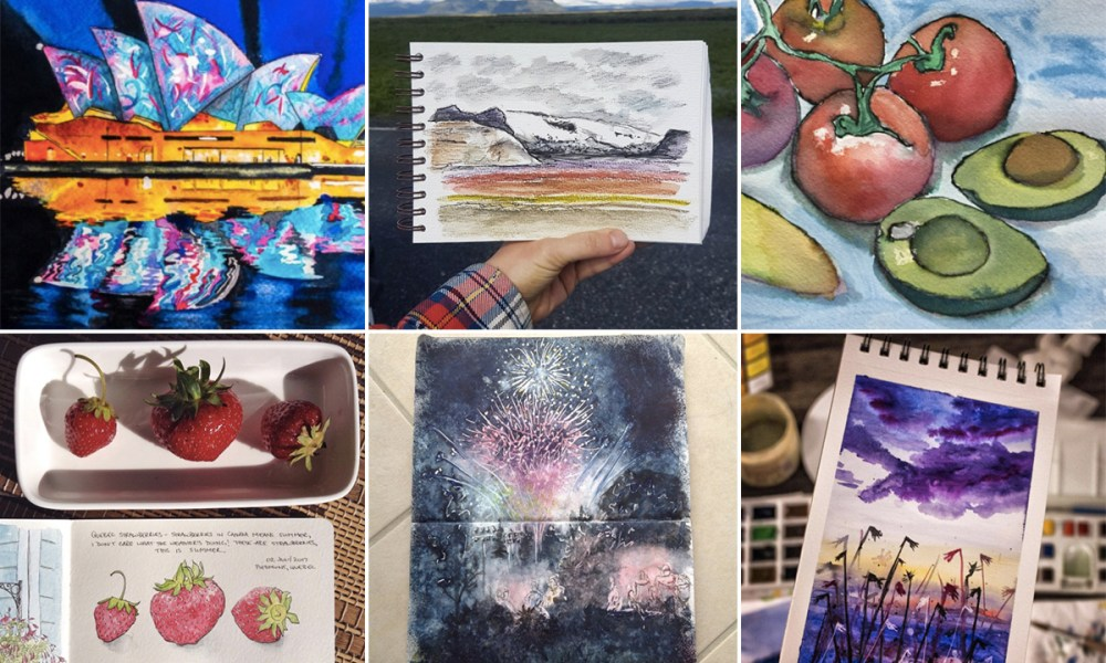 Moment Catchers Project: Sharing our sketches – July 2017