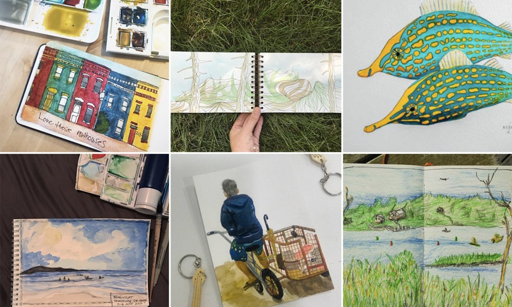Moment Catchers Project: Sharing our sketches – August 2017