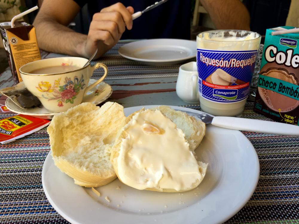 Breakfast in Uruguay