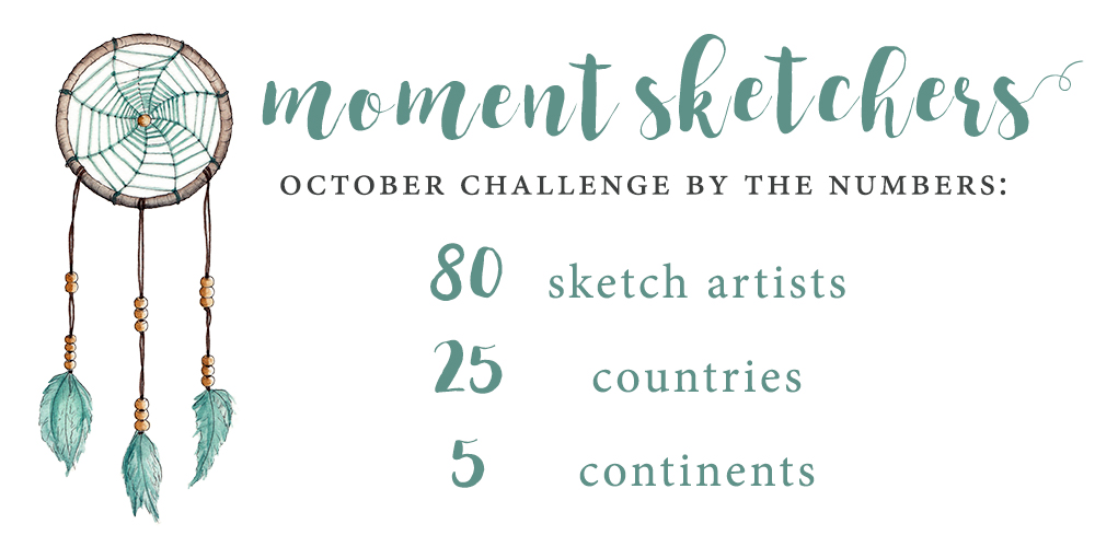 Moment Sketchers October
