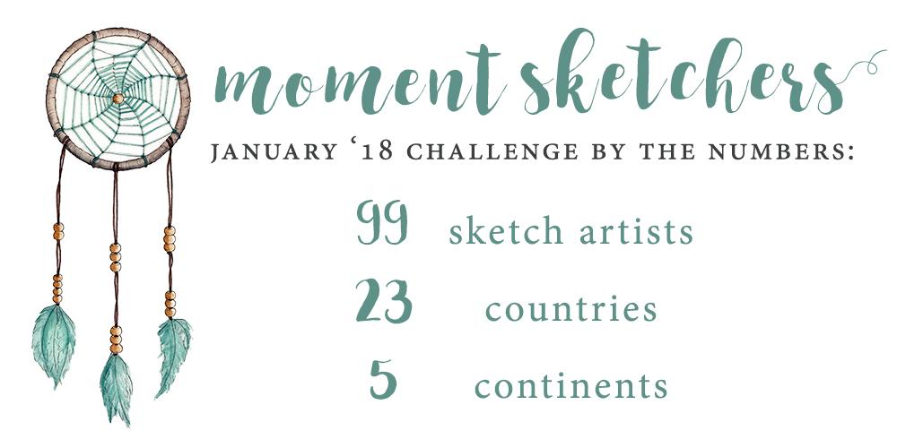 Moment Sketchers January