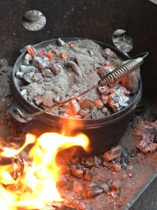 Dutch Oven Campfire Bread