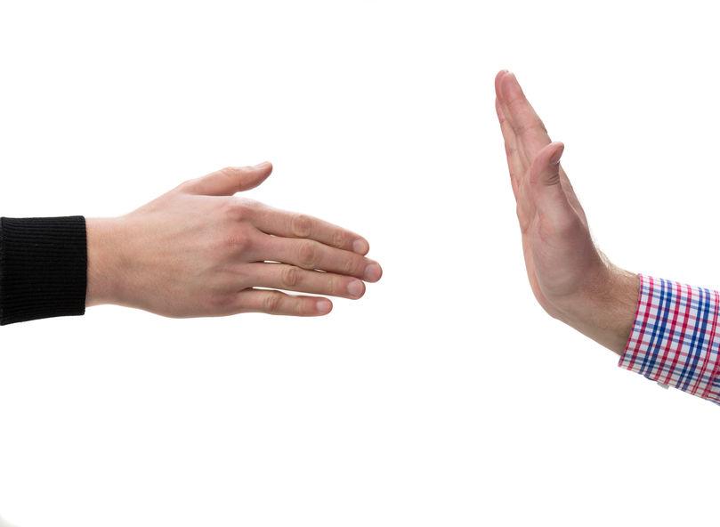 Refusing the Handshake