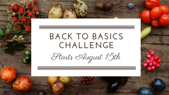 Back to Basics – Join the Challenge