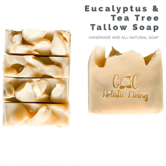 Eucalyptus, Tea Tree, Tallow Soap, Handmade