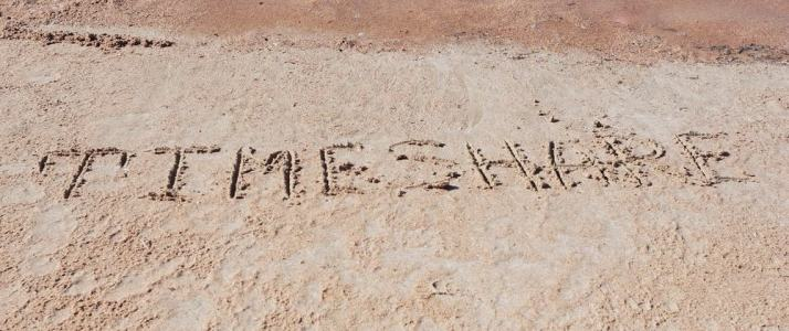 Timeshare Written in Sand