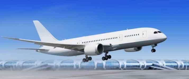 Aeroplane Landing