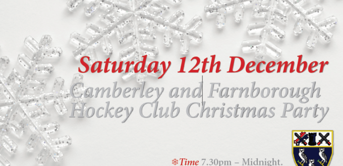 Camberley & Farnborough Xmas Party 2015