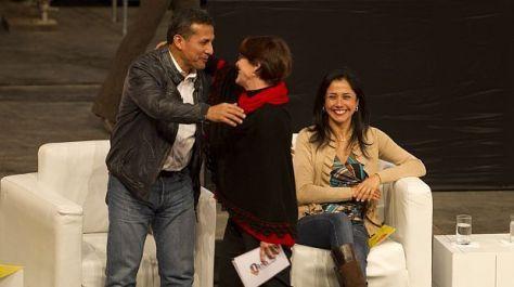 Susana Villaran y Ollanta