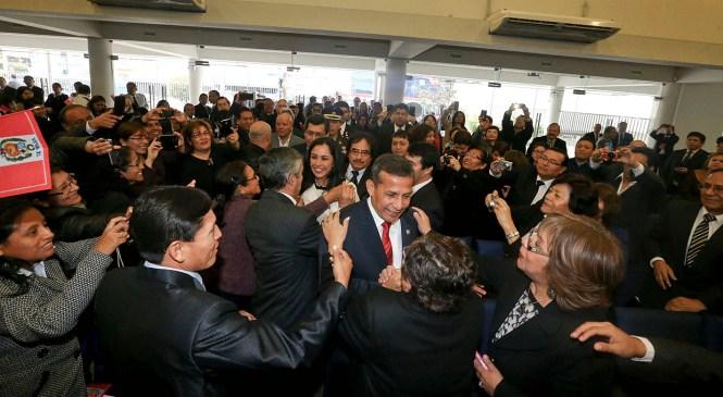 Presidente Ollanta Humala participó en Ceremonia de Acción de Gracias por el Perú
