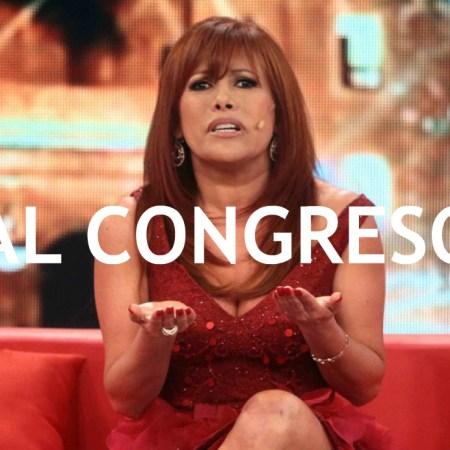 Magaly Medina candidata al Congreso
