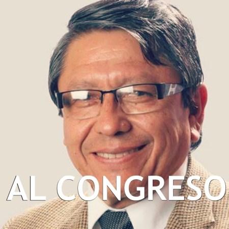 Médico Ciro Castillo al Congreso