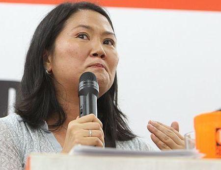 """Keiko Fujimori: """"Los lobbistas pretenden llegar al poder para repartirse la 'piñata'"""""""