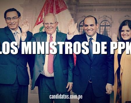 Conoce a los 19 ministros de PPK