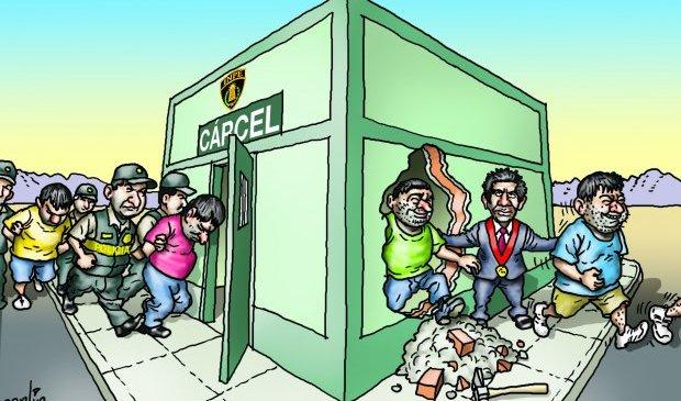 Triste realidad de la Justicia Peruana