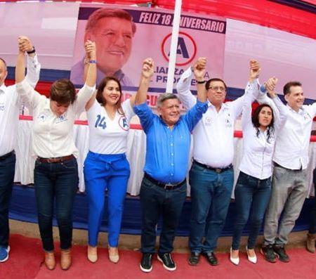 Candidatos de Alianza para el Progreso – Congreso 2020