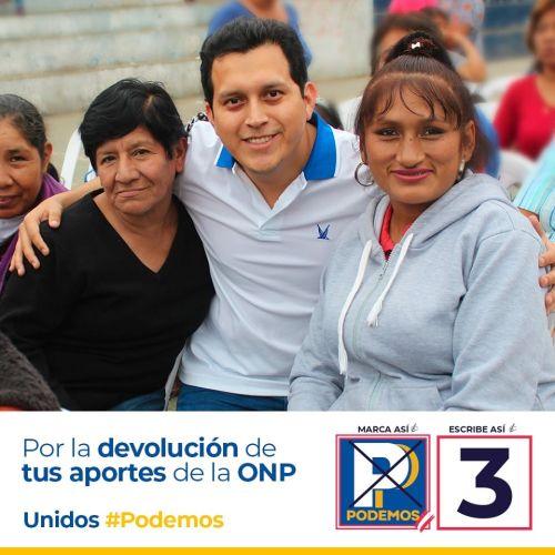 Pepe Luna Morales Podemos Peru