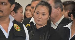 Fiscalía a Keiko: Solicitan 18 meses de prisión preventiva en su contra