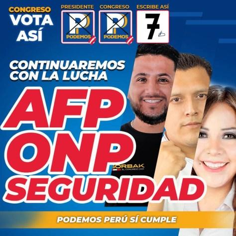 Candidatos de Lima