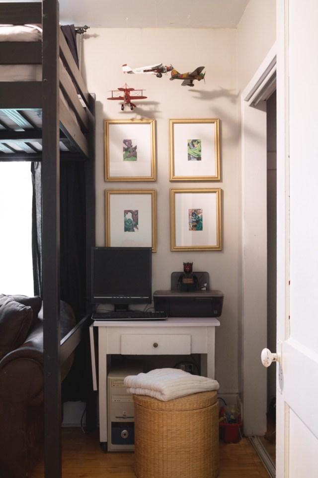 Interior photography desk
