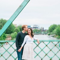 Elena & Jason's Lachine Canal Engagement Session