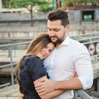 Marie-Pier and Maxime's Engagement Session in the Old Port